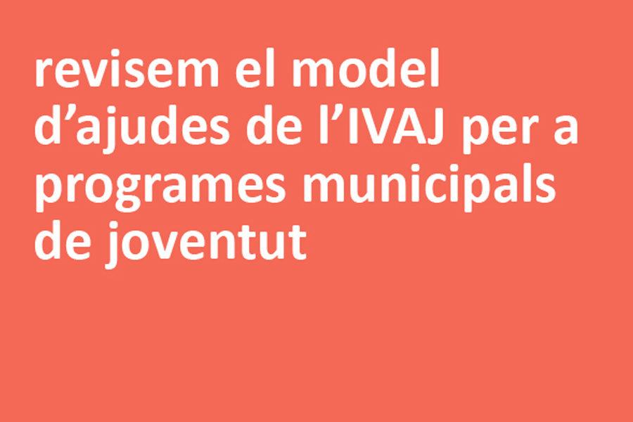 Ajudes de l'IVAJ per a programes municipals de joventut 2021: reflexió i revisió